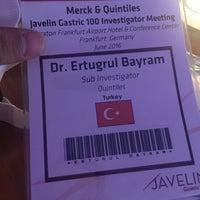 Photo taken at Sheraton Frankfurt Congress Hotel by Ertuğrul B. on 6/16/2016