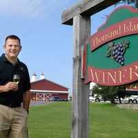 Photo taken at Thousand Islands Winery by Thousand Islands Winery on 7/29/2015
