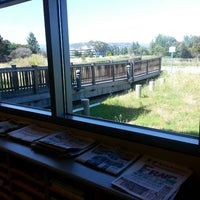 Photo taken at Redwood Shores Branch Library by Hagop A. on 6/9/2014