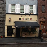 Photo taken at Babbo Ristorante by Tanya W. on 12/27/2012