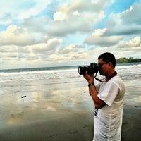 Photo taken at Pantai Batu Karas by InDri'E B. on 9/3/2016