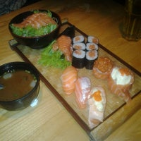 Photo taken at Kiyadon Sushi by Rhany D. on 2/13/2014