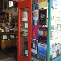 Photo taken at Dog Eared Books by Kate R. on 8/1/2015
