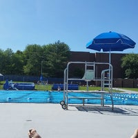 Photo taken at Penn State Outdoor Pool by Peter C. on 5/31/2014