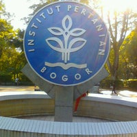 Photo taken at Institut Pertanian Bogor (IPB) by Adryani A. on 2/10/2013