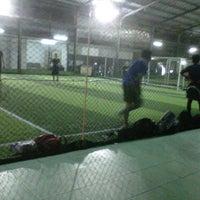 Photo taken at Cimahpar Futsal by Faiza I. on 2/21/2013
