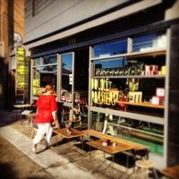 Photo taken at Wicks Park Cafe by Tony H. on 1/15/2014