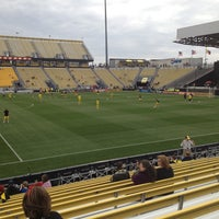 Photo taken at MAPFRE Stadium by Bobby K. on 4/27/2013