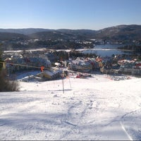 Photo taken at Station Mont Tremblant Resort by Andrew C. on 12/15/2012