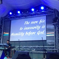 Photo taken at His Life City Church by Aira G. on 10/28/2015