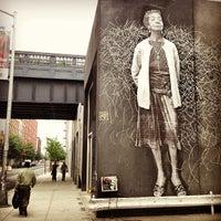 Photo taken at Chelsea Art Walk by Thomas v. on 8/9/2013