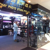 Photo taken at Cathay Photo Store (Pte) Ltd by Benjamin O. on 10/27/2012
