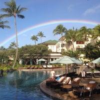 Photo taken at Grand Hyatt Kauai Resort & Spa by Brad D. on 3/28/2013