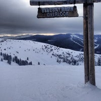 Photo taken at Back Bowls at Vail by Brad D. on 2/23/2013