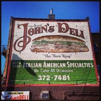 Photo taken at The Original John's Deli by Richard C. on 5/2/2013