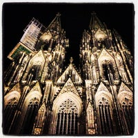 Photo taken at Cologne Cathedral by Leo on 9/8/2013