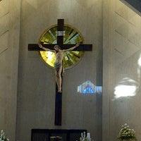 Photo taken at Gereja Katolik Santo Yakobus by santy n. on 11/25/2012