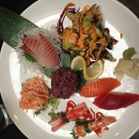 Photo taken at Miki Japanese Restaurant by Tara G. on 1/25/2013