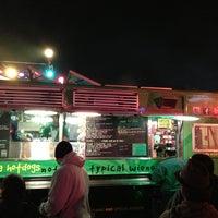 Photo taken at Dogzilla Hot Dogs Truck by Jason on 1/1/2013