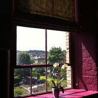 Photo taken at Salts Mill by attitude Travel on 5/26/2013