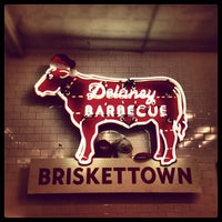 Photo taken at Delaney Barbecue: BrisketTown by Daniel D. on 12/8/2012