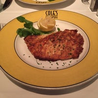 Photo taken at Cole's Chop House by Julianne K. on 12/21/2014