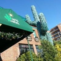 Photo taken at Cactus Cantina by Alexandra L. on 11/21/2012