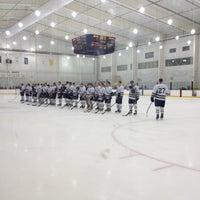 Photo taken at Dr. John J. McMullen Hockey Rink (USNA Brigade Sports Complex) by Kasandra G. on 1/12/2013