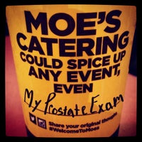Photo taken at Moe's Southwest Grill by Wizzard on 4/4/2015