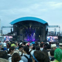 Photo taken at FirstMerit Bank Pavilion at Northerly Island by Rich L. on 7/21/2013