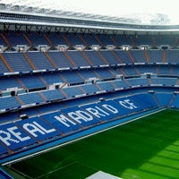 Photo taken at ESTADIO SANTIAGO BERNABEU by randy o. on 4/3/2013