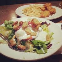 Photo taken at Perkins Restaurant & Bakery by Erika S. on 11/26/2012