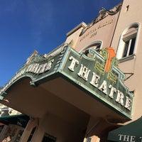 Photo taken at Sebastiani Theater by Ira S. on 12/15/2015