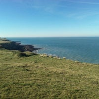 Photo taken at Cap Gris Nez by Andrey G. on 9/29/2015