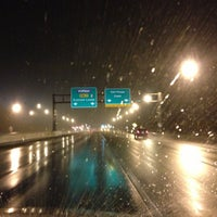 Photo taken at Dover Toll Plaza by Benjamin F. on 12/17/2012