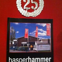 Photo taken at Hasper Hammer e.V. by Chris S. on 12/9/2012