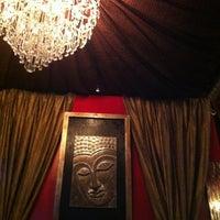 Photo taken at Black Myst Hookah Lounge by Amanda PartyPoison N. on 10/28/2012