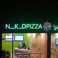 Photo taken at N_K_DPIZZA: Dubai Marina by Jaynne M. on 12/29/2013