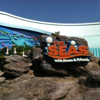 Photo taken at The Seas with Nemo & Friends by Benjamin B. on 3/19/2013