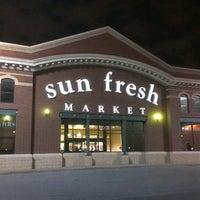 Photo taken at Marsh's Sun Fresh Market by Benton on 11/11/2013