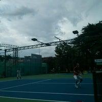 Photo taken at Phú Thọ tennis club by Minh H. on 7/6/2014