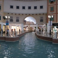 Photo taken at Villaggio Mall by Adel f. on 4/24/2013