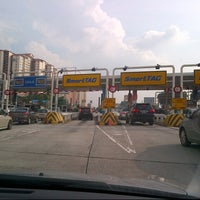 Photo taken at Plaza Tol Sungai Besi by Austin M. on 1/14/2013