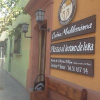Photo taken at Casa María Lombardo Restaurant by Oaxacaes .. on 4/17/2013