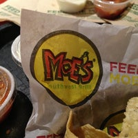 Photo taken at Moe's Southwest Grill by Jennifer S. on 12/20/2012