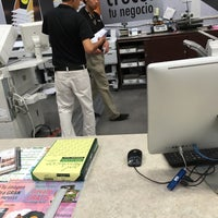 Photo taken at Office Max by Juan M. on 11/1/2015