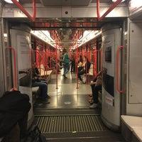 Photo taken at Metro Turro (M1) by Marzia m. on 4/3/2016