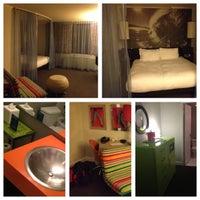 Photo taken at Hotel Helix by Caroline M. on 11/16/2012