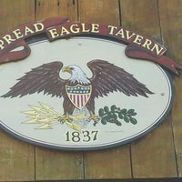 Photo taken at Spread Eagle Tavern by HidingIn P. on 1/19/2013