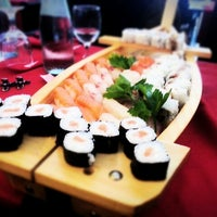 Photo taken at Sushi 189 by Faye W. on 3/11/2013